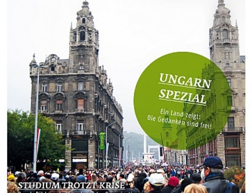 Danksagung an die Unterstützer des Ungarn-Projektes