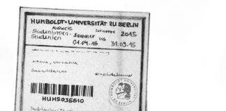 Semesterticket Hu Berlin