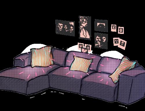Kolumne: Nicht nur das Sofa zieht aus