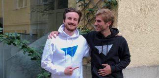 Frederic Lapatschek und Fabian Höhne von FLYLA (von links)