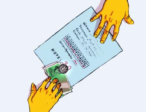 Tausche Prüfung gegen Bargeld