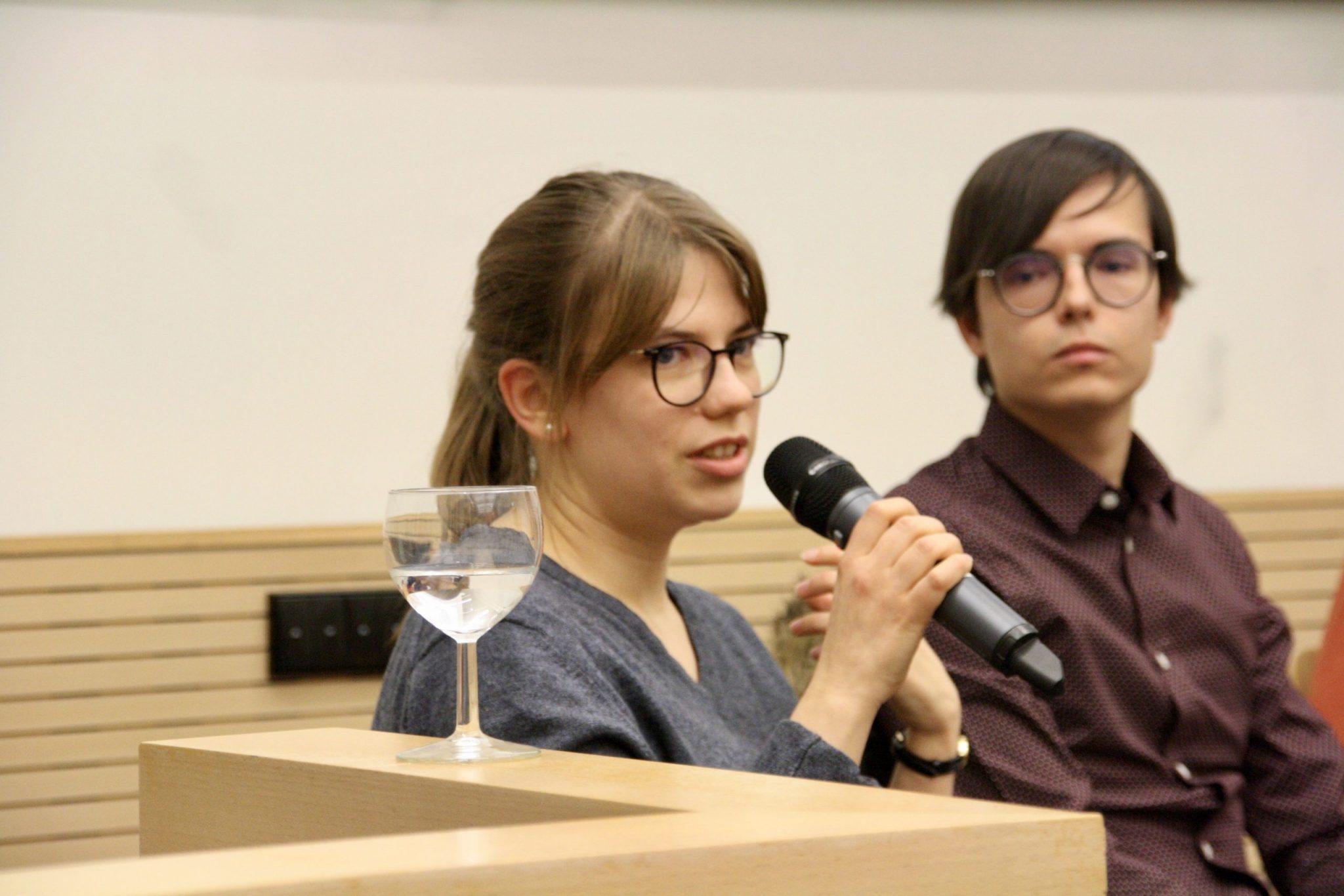 Maris Trettin (Juso-Hochschulgruppe FU)