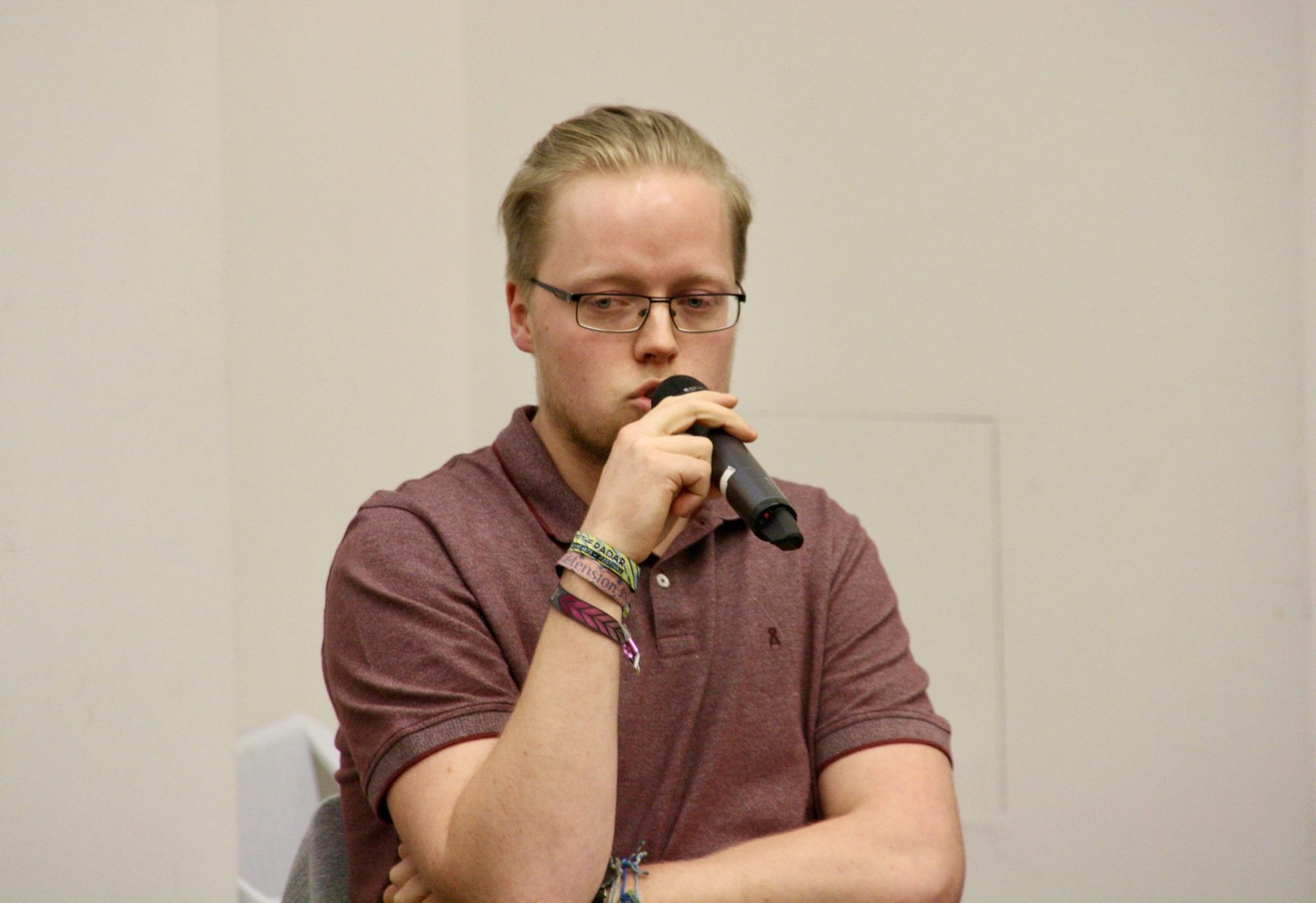 Fabian Bennewitz (Referent für Hochschulpolitik des AStA FU)
