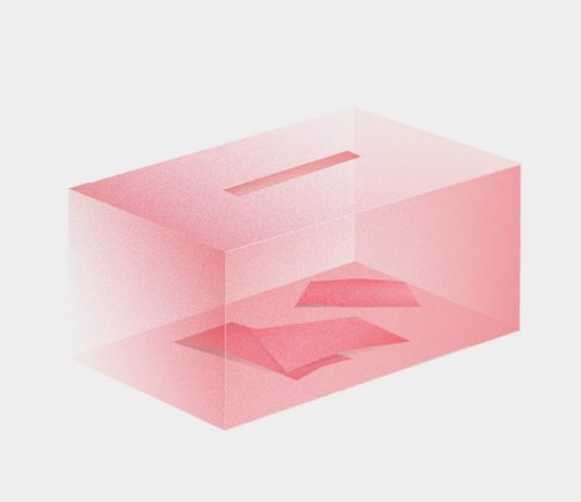 Wahlurne (Symbolgrafik). Belén Ríos Falcón/CORRECTIV